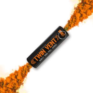 Orange Burst Wire Pull Smoke